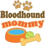 Bloodhound Mom T-shirts and Gifts