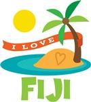 I Love Fiji T-shirts
