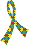 Autism Puzzle Ribbon Support