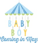 Baby Boy Coming in May Due Date Maternity
