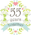 Floral Anniversary Gifts and Keepsakes