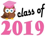 Class of 2019 Graduation Tee Shirts (owl)