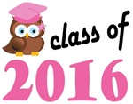 Class of 2016 Graduation Tee Shirts (owl)