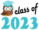 2023 Graduation Tee Shirts (owl)