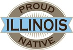 Proud Illinois Native T-shirts