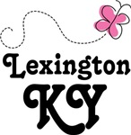 Lexington Kentucky Butterfly T-shirts and