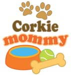 Corkie Mom T-shirts and Gifts