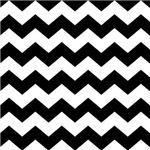 Chevron Zigzag Black Striped Gifts