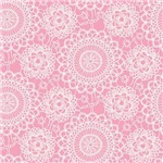 Pink Lace Crochet Doilies pattern gif