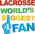Lacrosse Fan Sports T-shirts