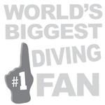 Diving Fan Foam Hand Tees