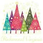 Richmond Virginia Christmas Holiday Tshirts