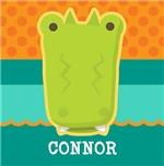 Cute Personalized Kids Alligator