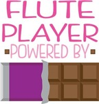 FLUTE PLAYER powered by chocolate