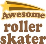 Awesome Roller Skater T-shirts