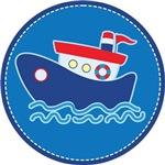 Tug Boat Nautical Kids Tees