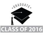 Class Of 2016 Graduation Logo Tees