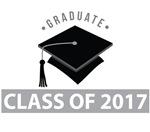 Class Of 2017 Graduation Logo Tees