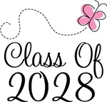 Class of 2028 Butterfly Graduate Gifts