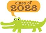 Funny Class Of 2028 graduating class tees