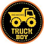 Construction Truck Lover Kids T-shirts