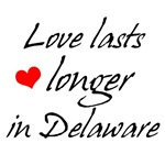 Love In Delaware T-shirts and Gifts