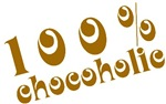 100 Percent Chocoholic T-shirts and Gifts