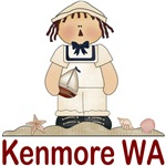Kenmore Washington Sailor T-shirts and Gifts