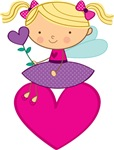 Valentine Fairy Cute T-shirts and Giftts