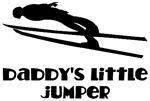 Daddy's Little Jumper Ski Jump Kids tees