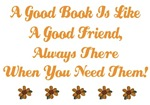 BOOKS AND FRIENDS QUOTE