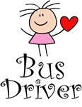 Cute Bus Driver T-shirts and Gifts