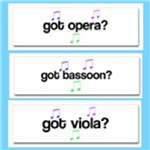 Got Music Instruments Bumper Stickers