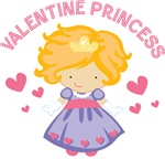 Valentine Princess Gifts and T-shirts