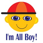 I'm All Boy Kids T-shirts And Gifts