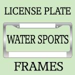 SURFING / WATER SPORTS License Plate Frames