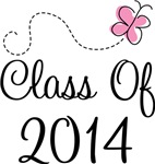 Pink Class Of 2014 T-shirts