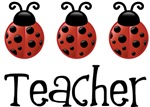 Teacher Ladybug T-shirts and Gifts