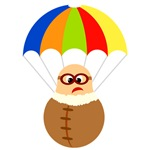 Fun Parachuter Cartoon Tees and Gifts