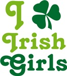 I Love Irish Girls T-shirts