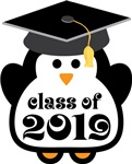 Penguin Class Of 2019 T-shirts and Graduation Gift