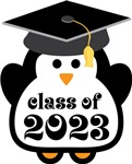 Penguin Class Of 2023 T-shirts and Graduation Gift