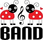 Ladybug Band T-shirts
