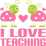 Ladybug Teacher T-shirts and Gifts