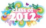 Retro Grad Class Of 2012 Gift Tee Shirts