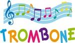 Musical Trombone T-shirts and Hoodies