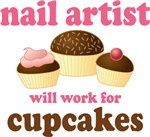 Funny Nail Artist T-shirts and Gifts