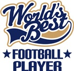 Worlds Best Football Player T-shirts and Gifts