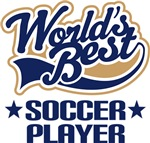 Worlds Best Soccer Player T-shirts and Gifts