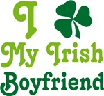 I Shamrock Love My Irish Boyfriend Tee Shirts